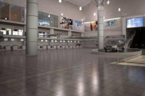 Обнародован проект интерьера Одесского аэропорта