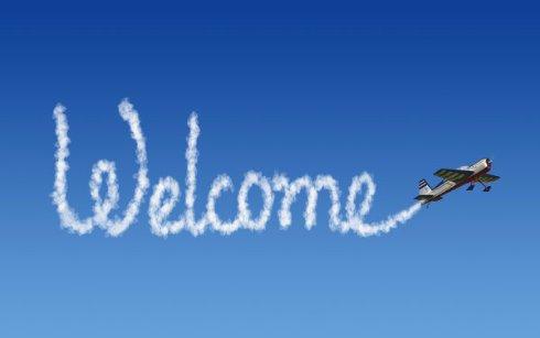 Перспективные бизнес-идеи – реклама на небе или скайтайпинг