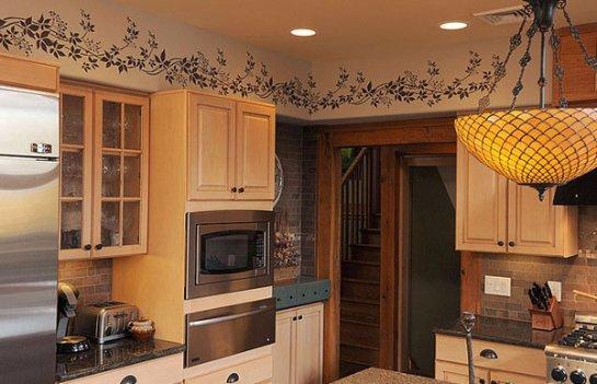 Оформляем стены на кухне
