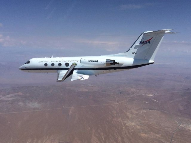 NASA успешно протестировало технологию изменения формы крыла самолёта