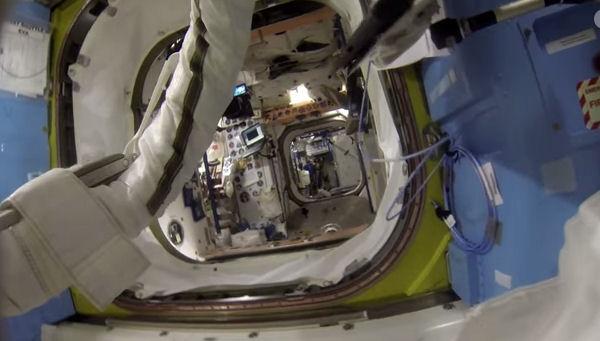 Впечатляющее видео облета Земли от астронавтов МКС