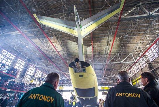 Украина сегодня испытает свой новый самолет
