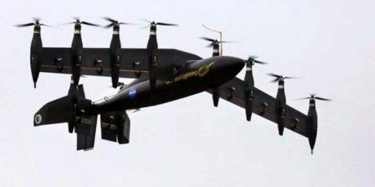Беспилотный вертолет-самолет успешно испытали (Видео)