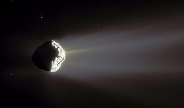 Фото дня: самый эффектный снимок кометы Чурюмова-Герасименко