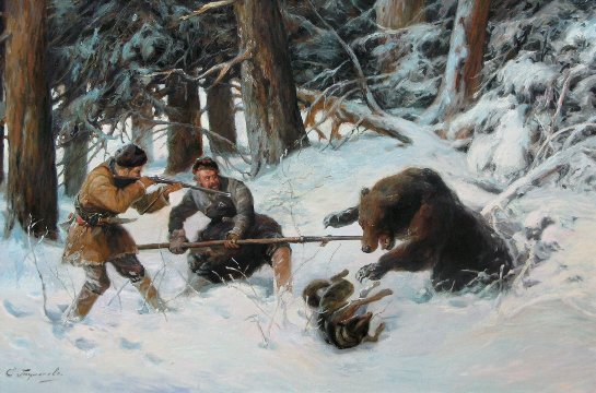 Зимняя охота