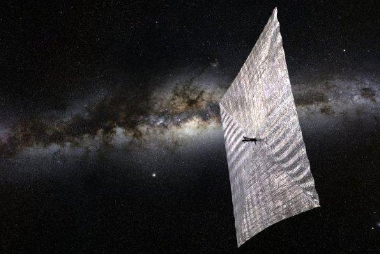 20 мая в космос запустят аппарат с солнечным парусом