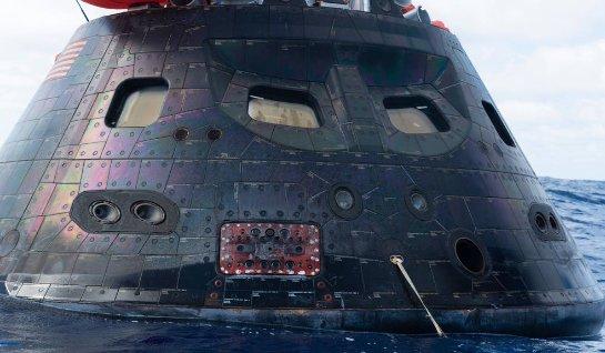 Из чего сделаны иллюминаторы космического корабля Orion