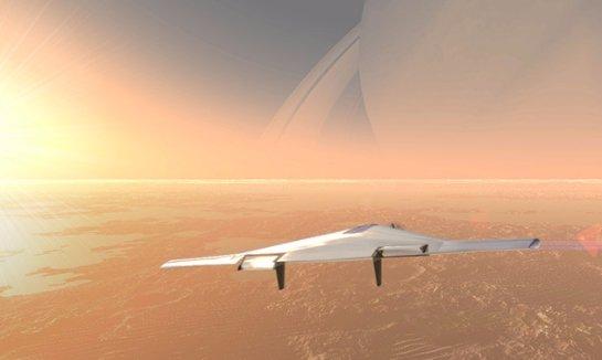 Концепт беспилотника для изучения Венеры — видео