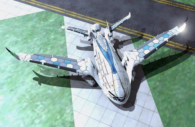 Представлен невероятный самолет будущего