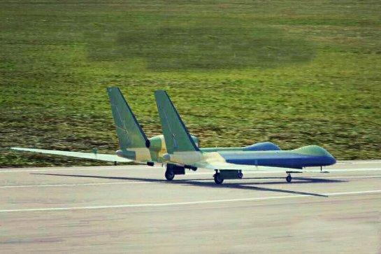 Первые фото секретного китайского самолета