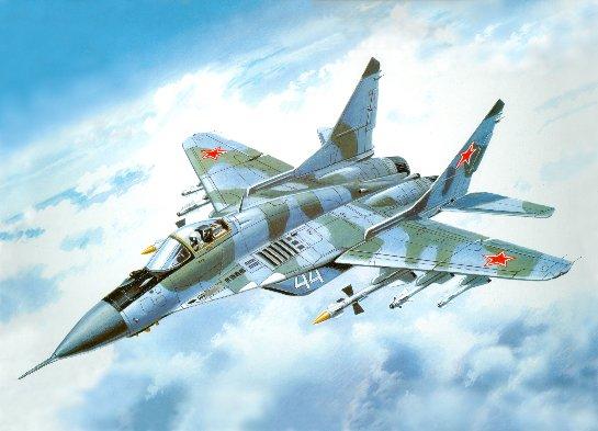 МиГ-29 делает