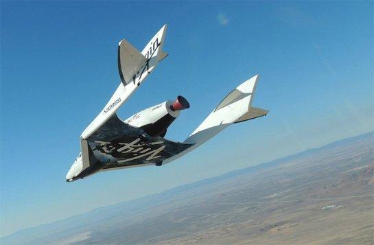 Крушение SpaceShipTwo: виноват пилот