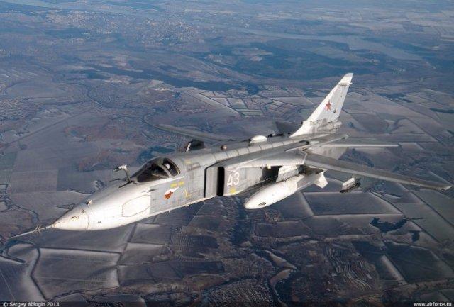 Российские ВВС потеряли пятый самолет за месяц: разбился бомбардировщик