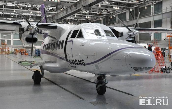 Путинские СМИ восхвалили чешский самолет, выдав его за российский