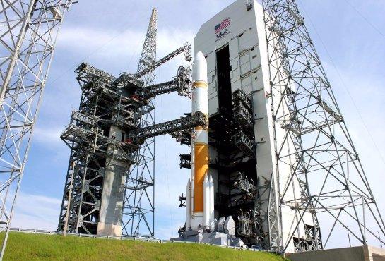 США отправляют на орбиту военный спутник