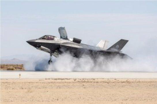 Американцы испытали пушку истребителя F-35A (ВИДЕО)