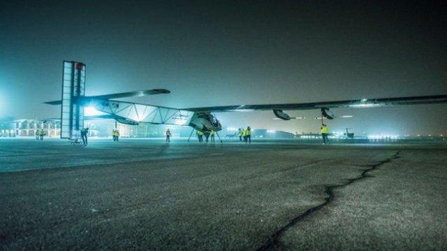 120 часов над Тихим океаном без посадки на самолете на солнечной энергии