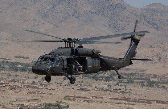 В Колумбии разбился военный вертолет, есть жертвы