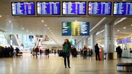 В московском аэропорту самолет совершил аварийную посадку с отключившимся двигателем