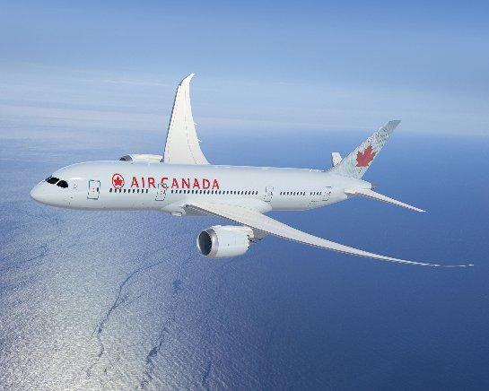 Самолет Air Canada совершил аварийную посадку