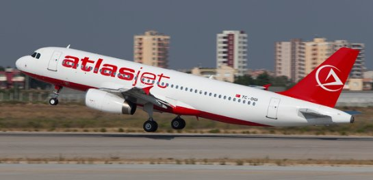 Atlasjet Україна переносит первые рейсы