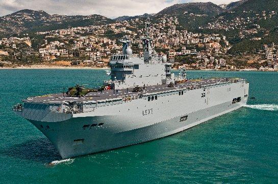 Россия и Франция разрывают договор по вертолетоносцам