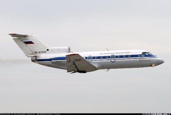 В России списанный самолет угодил в ДТП