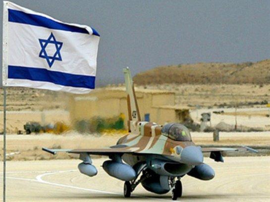Над Сирией сбит израильский военный самолет