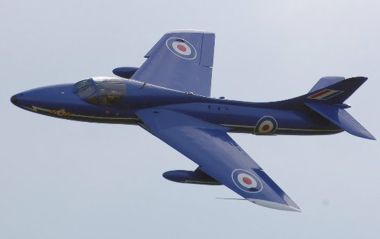 В Британии на авиашоу разбился военный самолет