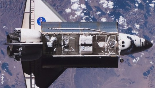 NASA использует старые детали от Space Shuttle на МКС