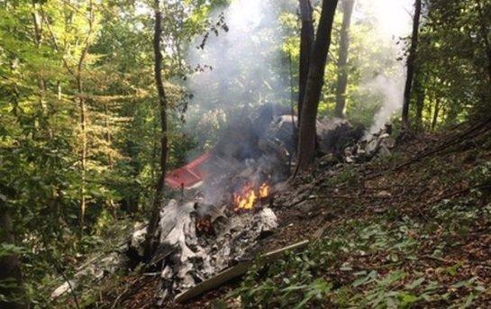 Над Швейцарией столкнулись два самолета, есть погибший