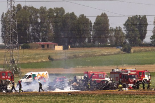 В Испании потерпел крушение легкий самолет, есть погибший