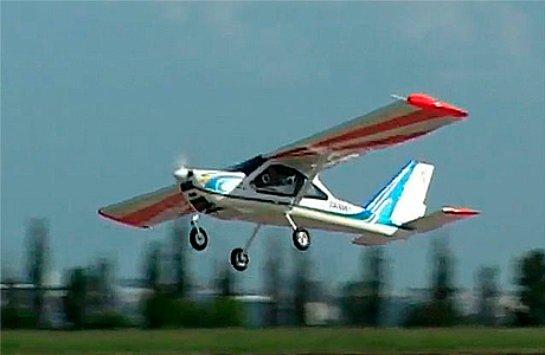 В Харьковской области самолет совершил экстренную посадку в поле