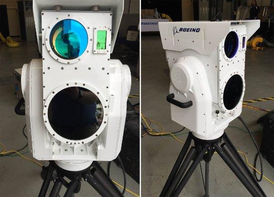 Boeing представил портативную лазерную пушку для уничтожения беспилотников
