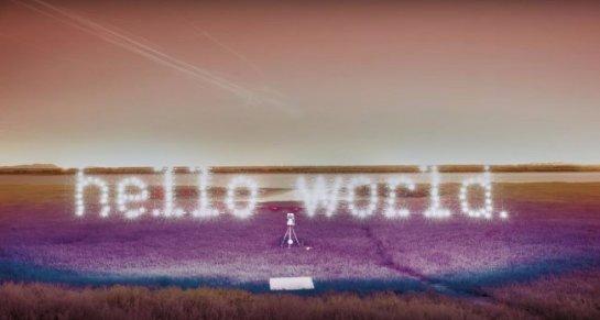 Невероятное световое шоу, созданное с использованием дронов (Видео)