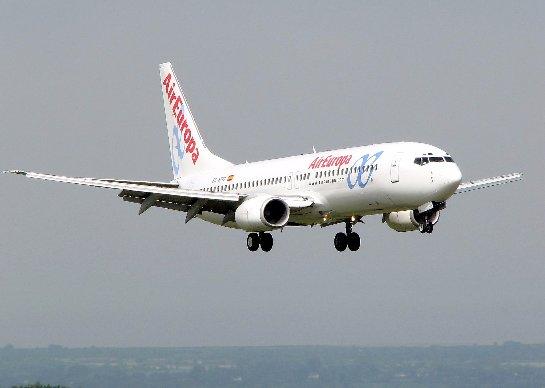 Air Europa начинает эксплуатацию самолета только с бизнес-классом