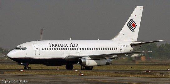 В Индонезии обнаружены обломки рухнувшего самолета