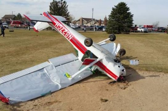 В Японии рухнул небольшой самолет, есть пострадавшие