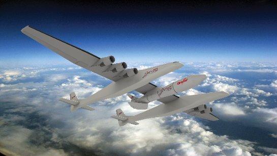 Американцы соберут крупнейший самолет в мире (ФОТО)