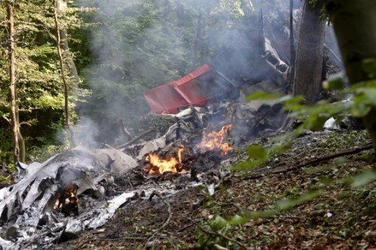 В Словакии столкнулись два спортивных самолета, есть жертвы