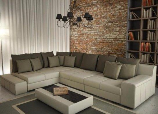 Покупаем диван в гостиную - правильно выбираем материал