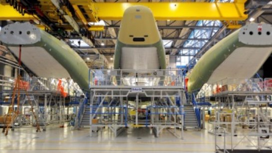 Разработан самолет будущего в виде летающей тарелки