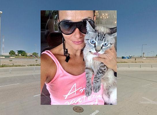 Молодая пассажирка грозилась захватить самолет, если ей запретят лететь с кошкой