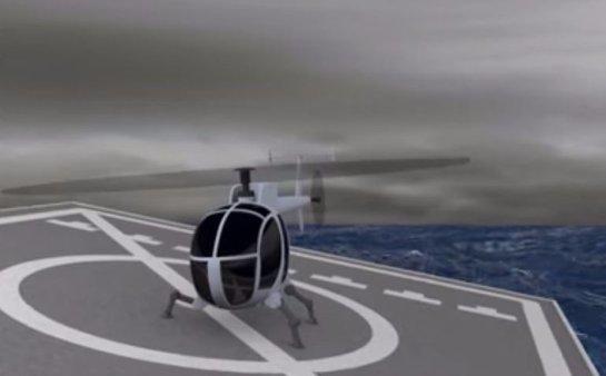 Создана инновационная взлетно-посадочная система для вертолетов