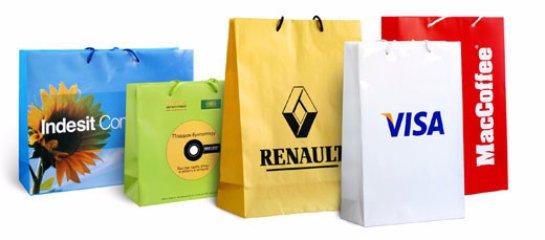 Пакеты с логотипами в Вологде: лучший способ рекламы