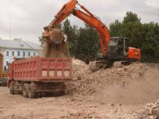 Вывоз строительных отходов специалистами
