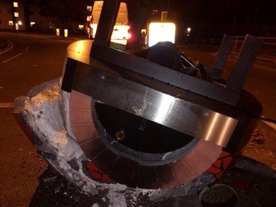 Полицию Лондона поднял на уши звонок о разбившемся НЛО (ФОТО)