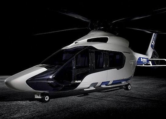 Футуристичный дизайнерский вертолет от Peugeot