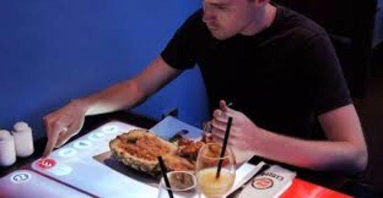 Стол-планшет, или как создать ресторан будущего