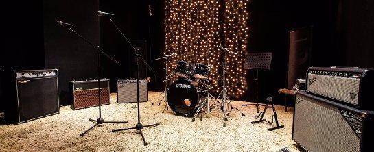 Репетиционная база, звук